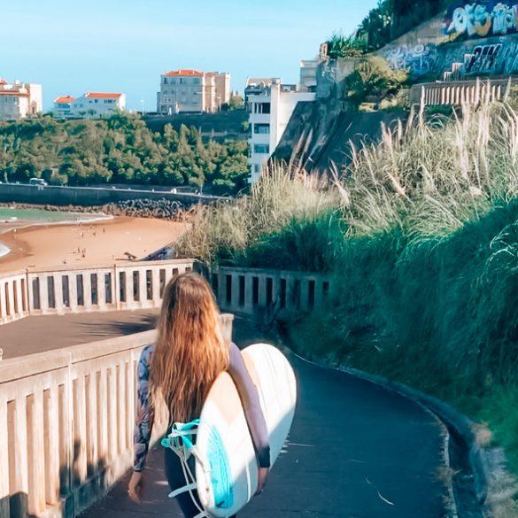 Escapade Surf à Biarritz
